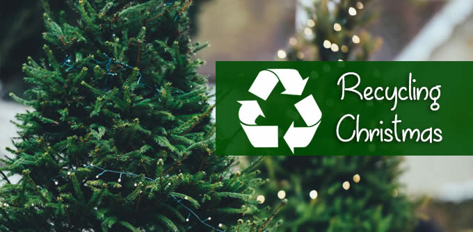recycling Christmas
