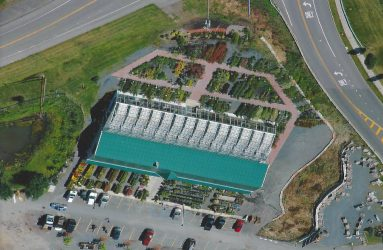Georges Market Nursery Aerial View