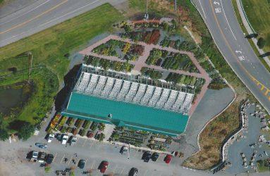 Georges Market Nursery Aerial View